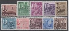 Lightly Hinged North Borneo Stamps