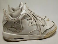 Nike Air Jordan Courtside  White Leather 453982 103 Size 5.5 Youth