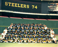Pittsburgh Steelers - 1974 Superbowl Champions, 8x10 color team photo