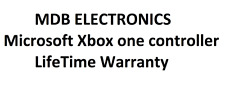 MDB Electronics Lifetime Warranty for Microsoft Xbox one controllers.
