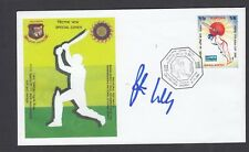 cricket FDC - Bangladesh Vs India 2000 - signed by Peter Willey