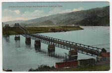 LEWISTON CLARKSTON BRIDGE Idaho PC Postcard SNAKE RIVER ID Wesley Andrews BAKER