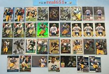 1993+ JEROME BETTIS Rookie-SP-Base Lot x 34 Playoff Topps Gold SuperChrome HOF