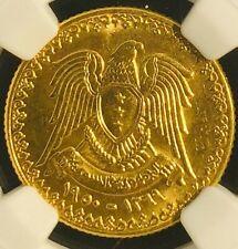 AH1369 1950 Syria 1950 Gold Pound MS64 NGC--  RARE!!!