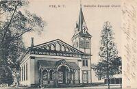 RYE NY – Methodist Episcopal Church – udb - 1907
