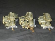 1969 427 4 Spd Corvette Tri Power Holley 4055 3659 Carburetors NCRS Jan dated