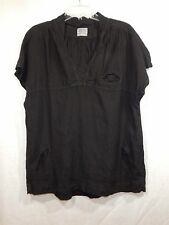 COMPLETO LINO BY ARTHURIO WOMENS FLAX LINEN TUNIC LARGE L SHIRT TOP LAGENLOOK