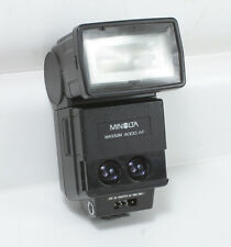 MINOLTA MAXXUM 4000AF FLASH UNIT, TTL/MANUAL/AUTO POWER ZOOM/153957