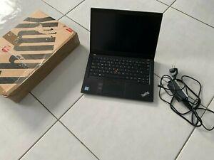 Lenovo thinkpad T490s i5-8365U 8GB 256GB Windows 10 pro Notebook