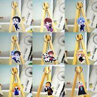 edelstahl acryl cool schlüsselanhänger anhänger anime yuri schlüsselanhänger