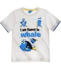Camisetas de niño de 2 a 16 años blancos Disney