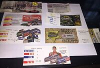 Lot Of Nascar Racing Ticket Stubs Charlotte