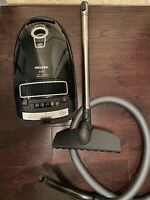 Miele S8370 Canister Vacuum, Obsidian Black1200-watt motor