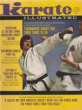 Karate Illustrated Magazine July 1972