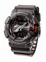 Casio G-Shock GA-400-1B Original New 200M Diver Mens Watch Digital GA-400 Black