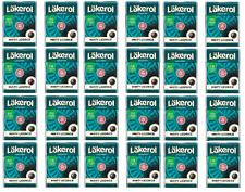 Cloetta Läkerol Minty Licorice Swedish Sugar Free Licorice  25g * 24 pack 21oz