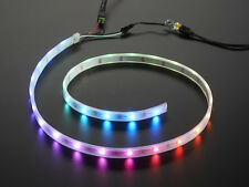 NEW WS2812B Smart RGB 60 LED/m Neopixel Arduino IP67-BLACK PCB