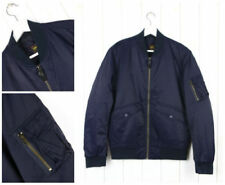 Abrigos y chaquetas de hombre bomberes azules de 100% algodón