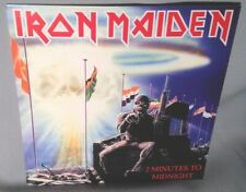 """45 7"""" IRON MAIDEN 2 Minutes To Midnight c/w Rainbow's Gold w/PS NEW MINT IMPORT"""