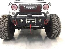 07-17 Jeep Wrangler JK Rock Crawler Stubby Front Bumper with LED fog Light