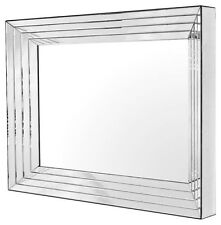 Art Deco Style Square Wall-mounted Decorative Mirrors