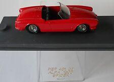 Alfa Romeo Giulietta Spider Black Seats 1/43 Verem Diecast Mint Condition