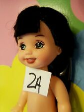 Kelly Chelsea Doll Clothes *Naked Kelly Bunch Doll w/Black Hair/Green Eyes* #2