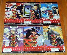 6 KEKKAISHI Viz Media MANGA  4 8 9 10 11 YELLOW TANABE ex lib ENGLISH