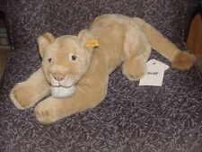 "24"" Steiff Lioness Lion Plush Toy New M/W/Tags 064289"