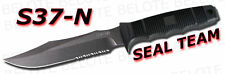 S.O.G. SOG SEAL Team Serrated w/ Nylon Sheath S37-N