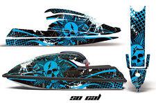 AMR Racing Jet Ski Graphics Wrap Kawasaki SX 750 Decal Kit 1992-1998 SOCAL BLUE