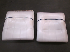 1998 Sea Ray Signature 230 Boat Front Bow Seat Backrest Set White & Blue