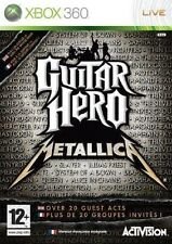 GUITAR HERO  METALLICA          -----   pour X-BOX 360