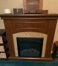 43 In. Electric Fireplace 1500 Watt Heater With Mantel Local Pickup Only
