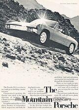 1972 Porsche 914 - Mountain - Original Advertisement Print Art Car Ad J822