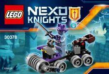Lego Nexo Chevaliers Ratatiné Siège Social 30378 Sac en Plastique Neuf Emballé