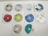 Bundle of 12 x Software Discs | HP, Webroot, Labtec, Microsoft, Dell, Logitech..