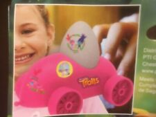 DreamWorks Trolls Egg Racer Car Plastic With Stickers