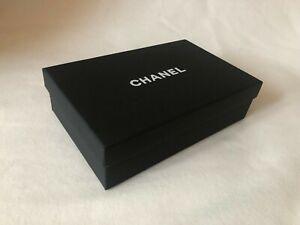 "CHANEL black small woc wallet on chain bag box 8.7""X5.5""X2.4"""