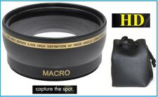 0.43x Hi Def Wide Angle with Macro Lens for Canon Powershot SX30 IS