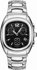 ESQ by Movado Mens Ion Chronograph Black Dial Swiss Watch 07300859