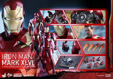 Hot Toys Captain America Civil War Iron Man Mark XLVI 46 DIECAST 1/6 Figure