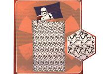 Set PARURE Lenzuola Letto Singolo 1 Piazza Star Wars 100% Cotone Bianco