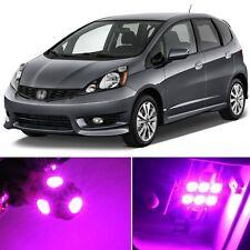 8 x Premium Hot Pink LED Lights Interior Package Kit for Honda Fit