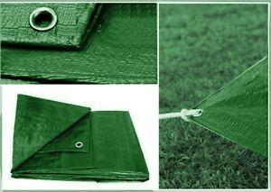 Green Heavy Duty Waterproof Tarpaulin Ground Sheet Camping Car Cover Tarp Strong