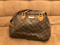 LOUIS VUITTON VINTAGE BAG ORIGINAL Monogramma Montorgueil Grande Limited Edition