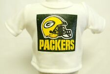 "Greenbay Packers Theme Silver Glitter Transfer T-Shirt For 16"" Or 18"" Dolls"