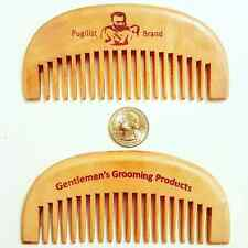 Gentleman's Classic Wooden Beard Care Comb by Pugilist Brand