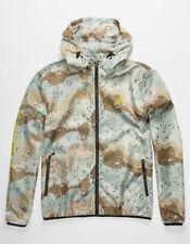 LRG Men's Desert Camo-Print thin Windbreaker jacket