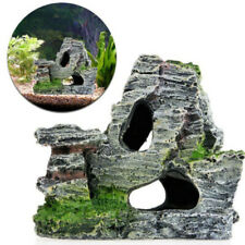Aquarium Rockery Landscape Rock Hiding Cave Tree Fish Tank Decoration Diy Part